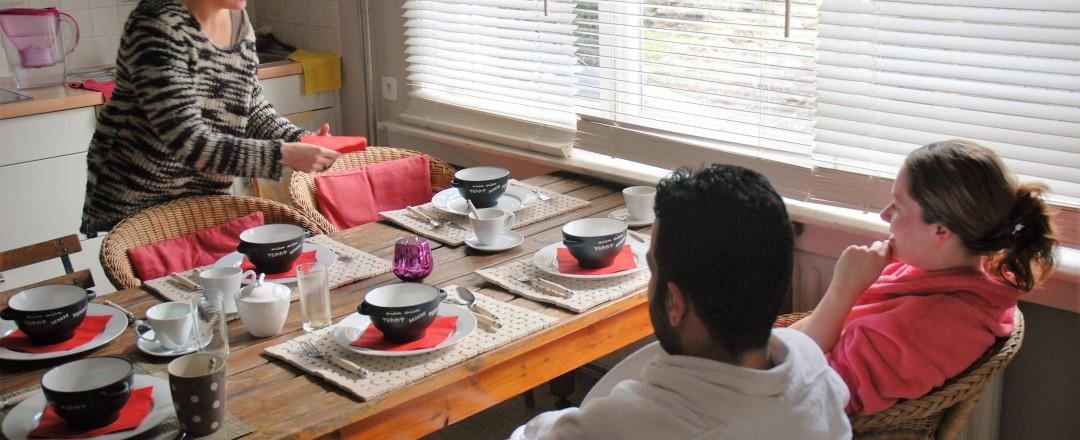 La table est mise , Casa Clara asbl